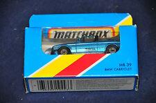 Matchbox Superfast 39 BMW 323i Convertible UNBESPIELT Top NEU OVP Baur Cabrio