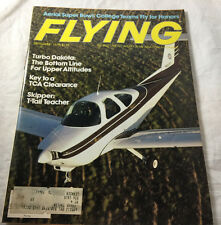 Turbo Dakota Skipper T Tail Sept 1979  Flying Magazine Airplane Aviation