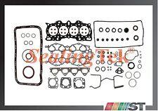 Fit 90-01 Honda Acura B18A1 B18B1 Engine Full Gasket Set includes oil pan gasket