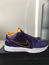 NIKE X UNDFTD Kobe IV PROTRO PE Court Purple LAKERS Size 10