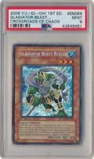 Gladiator Beast Retiari - CSOC-EN086 - PSA Mint 9 - Secret Rare 1st Yugioh 3Q6