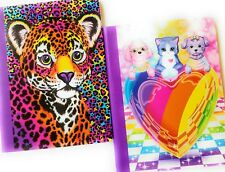 Lisa Frank Wide Ruled Composition Book Bundle Puppy Love and Hunter Purple Pink