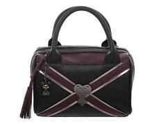NWT! BIOWORLD Kingdom Hearts HEARTLESS Satchel Crossbody Purse Bag with Charm