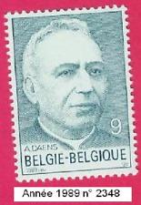 Année 1989, 150e anniversaire de la naissance de l'abbé Adolf Daens  N° 2348