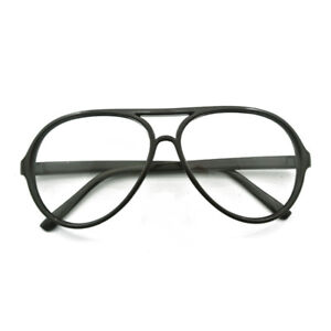 Vintage Oversize  Eyeglass Frames Clear Computer Full Rim Retro Glasses Rx able