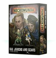 Necromunda Kal Jericho and Scabs Warhammer 40K