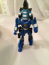 2001 Bandai Power Rangers Wild Force BLUE shark Ranger action figure