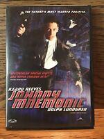 Johnny Mnemonic (DVD) Disc VG Keanu Reeves Dolph Lundgren