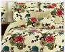 Tache 3 PC New Cotton Floral Cottage Country Garden Bedding Bedspread Quilt Set