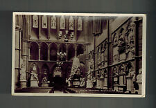 1929 London England Postcard Cover to Usa Westminster Abbey South Transept Rppc