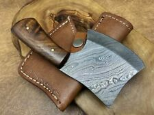"""TITANs Handmade Damascus Steel Mini Axe Hunting Camping Crafts Gift 6"""" X2-R"""