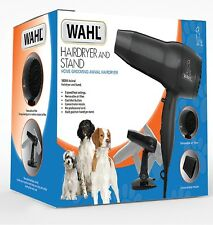 Wahl 1800W Dog Pet Hairdryer And Stand Professional Dog Cat Puppy Grooming