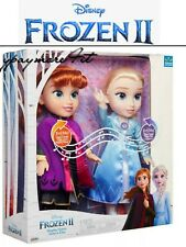 Disney Frozen II 2 Singing Sisters Anna & Elsa Interactive Feature Dolls 2 pack