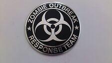 Zombie Resident Evil Umbrella Corporation Emblem Aufkleber  2x aus Alu WOW-NEU!