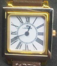 Original Lorenz lady's watch Quartz 20mm with Metal Yellow GoldPlated band NEW !