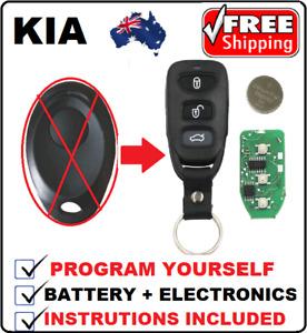 COMPLETE REMOTE CONTROL KEY LESS FOB suitable for KIA RIO JB PREGIO K2700 Truck