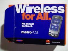 Huawei M735 - Metro PCS (Blue) Clean ESN
