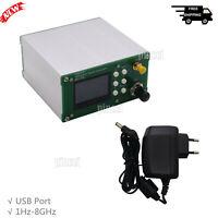 1Hz-8GHz Wideband Signal Generator with Make-Break Modulation + Power Adapter