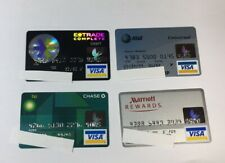 4 Expired Credit Cards For Collectors - Visa Random Collection Pulls Lot (7065)