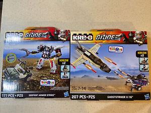 KRE-O G. I. Joe A2354 A4511  Serpent Armor Strike Ghoststriker X-16 New