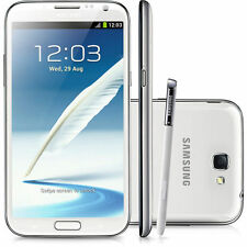 New Samsung Galaxy Note 2 White 8MP Sim-Free 16GB 3G N7100 Unlocked Smartphone
