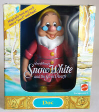 VINTAGE 1992 SNOW WHITE & 7 DWARFS DOC FIGURE DISNEY MATTEL NEW MIB !