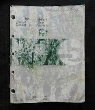 John Deere 7200 Front-Fold Maxemerge 2 Filettato Conservation Vaso Repair Manual