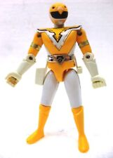"POWER RANGERS ""SUPER SENTAI YELLOW"" plastica/metallo cm. 11,5 BANDAI 1990"