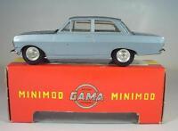GAMA Mini-Mod 1/46 Nr. 9660 Opel Rekord Limousine hellblaumetallic OVP #6436