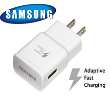 New Original Samsung Galaxy S9 S8plus Note 8 Fast OEM Wall Charger S10 S10+ Plug