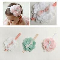 enfants bambin mignon fille coiffure lace fleur bande de cheveux bébé bandeau