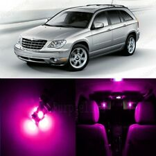 16 x Pink LED Interior Light Package For 2004 - 2008 Chrysler Pacifica + TOOL