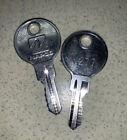 (2) Napco N277 Cabinet Keys