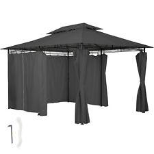 Gazebo da giardino di lusso tendone tenda per festa con parti laterali 3x4 antra