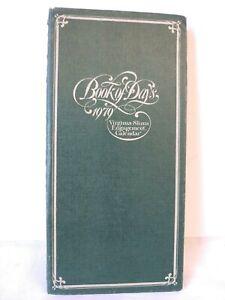 1979 Virginia Slims Engagement Calendar Book of Days-Advertising