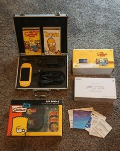 The Simpsons PSP 2002 ZY Slim & Lite Complete With PSP Bundle