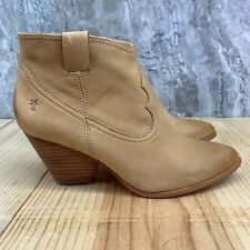 Frye Western Bootie Size 7 Womens Brown Boots