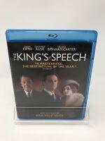 The Kings Speech (Blu-ray Disc, 2011) Colin Firth, Geoffrey Rush, Timothy Spall