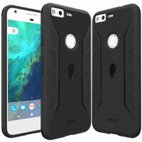 Google Pixel / Pixel XL   Poetic lightweight Slim Fit TPU Case Cover Black