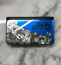Nintendo 3DS XL Super Smash Bros Limited Edition Console - Blue with Games/Case