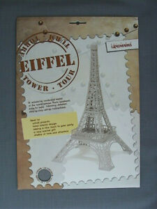 Eiffel Tower Paper Model Kit to Build Yourself - DIY Posterboard Pre-Cut Kit
