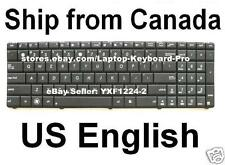 ASUS N53 N53J N53JQ N53JF N53JG N53JL N53JN N53S N53SV Keyboard - US English