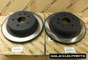 Lexus GS350 (2013-2018) OEM Genuine REAR BRAKE ROTOR SET 42431-30310 (x2)