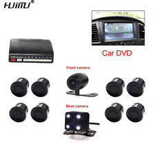 Visible Radar System Assistance Auto 8 Sensors with Front Rear view Camera 2 Cam