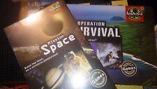 Operación Supervivencia + misión espacial 2 Juegos Bioviva; nueva estrategia a granel respetuoso del medio ambiente