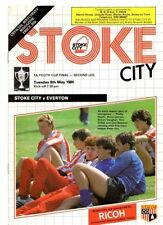 Stoke City FA Cup Home Teams Final Football Programmes