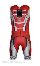 new Louis Garneau elite pro skinsuit men's triathlon XL wide leg band