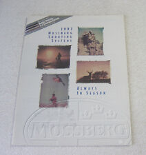 Mossberg Firearms 1997 Gun Catalog