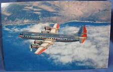 Vintage American Airlines First With Jets Across USA Electrat Airplane Postcard