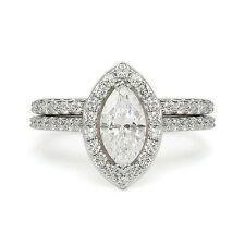 2.04 ct G VS2 MARQUISE DIAMOND ENGAGEMENT WEDDING RING